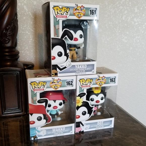 Animaniacs Funko Popz Set